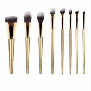 Luxie Glitter and Gold Brush Set Makeup Brushes